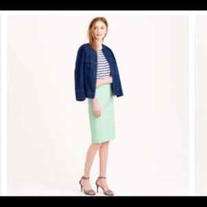 J Crew the pencil skirt